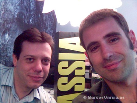 Marcos García y Juan Agustín Jiménez