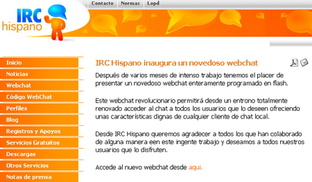 Chat Hispano (antiguo) 1.4 Actualizar