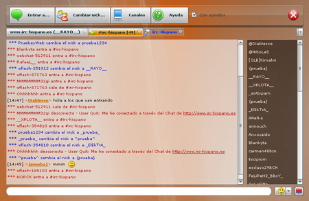 captura flash chat xplota 11 Nuevo Chat en Flash de Xplota Soluciones