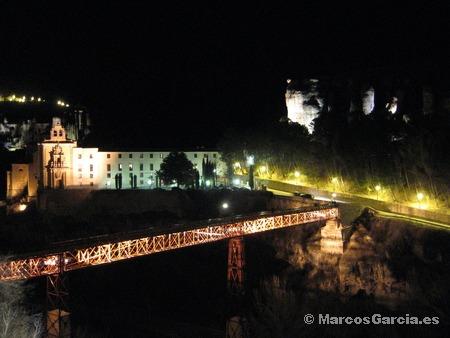 Cuenca de noche - Puente San Pablo - Parador