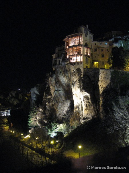 Cuenca de noche - Casas Colgadas