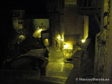 Cuenca de noche - Parador