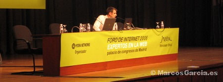 Juan Agustín en fori de internet 2008