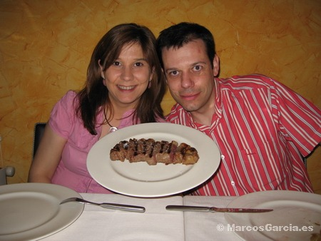 Comer Buey de Kobe (Wagyu) en Madrid