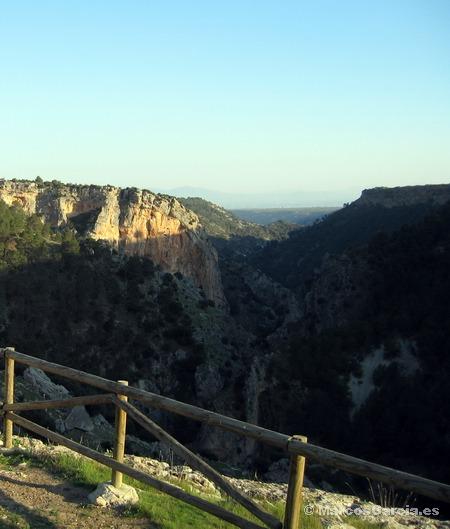 Mirador de la Cerrada de la Alcantarilla