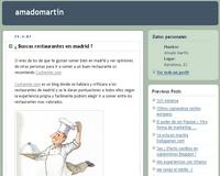 Blog de Amado Martín