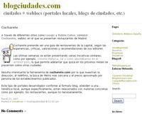 Blog Ciudades