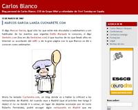 Blog personal de Carlos Blanco