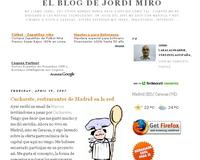 El Blog de Jordi Miró