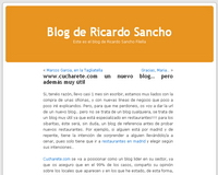 Blog de Ricardo Sancho