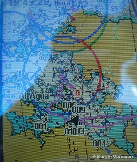 Planeando sobre la Ría de Arosa