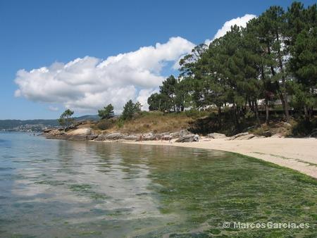Playa de Lourido (Poio)