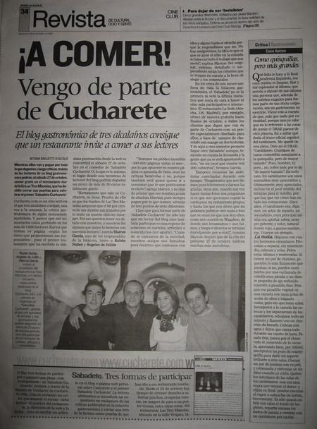 Sabadete de Cucharete - Diario de Alcalá