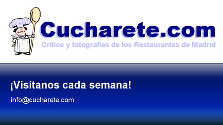 Cena de Navidad Madrid Cucharete